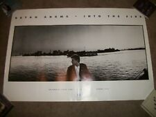 Bryan Adams Into The Fire 1987 Rare Orig. Promo Poster - Never Displayed 24X36