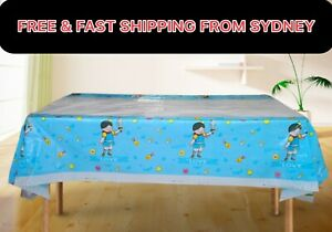 6color 108X180cm Child Plastic Table Cloth Rectangle Cover Picnic Birthday Party
