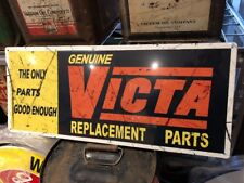 Victa Repro Replacement Parts Metal Sign