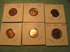 2011  uncirculated  Canadian penny from this lot  magnetic