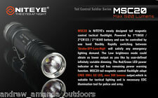 Niteye MSC20  CREE XM-L U2 Magnetic Control Ring  LED Flashlight - 500 Lumens
