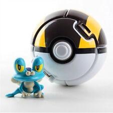 Pokemon Throw Pop PokeBall Cosplay Pop-up Elf Go Fighting Poke Ball toys black