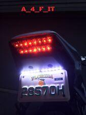 HONDA CBR 600RR 1000RR F4I 929 954 XR600 CRF LED PLATE LIGHT STRIP WHITE