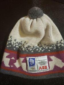 VIntage SWIX Lillehammer1994 Winter Olympics Norwegian 100% Wool Winter Hat
