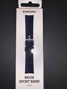 Samsung Ridge Sport Band for Galaxy Watch3 - Black, S/M (20mm)