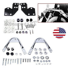 Quick Release Sissy Bar Tour Pack Rack Docking Hardware Kit For Harley 1997-2008