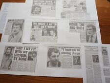 1981 LEWIS COLLINS BODIE THE PROFESSIONALS INTERVIEW COURT CASE 13 RARE ARTICLES