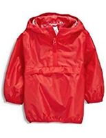 Next Cag in Bag Hooded Raincoat Red Size 3,4