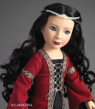 Medieval Gothic Princes Veronika 18 inch Slim Doll from Carpatina - NEW in Box