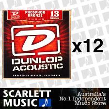 Jim Dunlop Dap1047 Phosphor Light Acoustic Guitar Strings