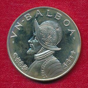 PANAMA 1973 ONE BALBOA PROOF SILVER COIN **FABULOUS HIGH GRADE**