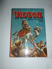 THE VICTOR BOOK for BOYS - Annual - Year 1980 - UK Annual ( Price Tab Intact )