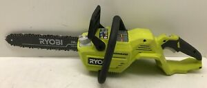 "Ryobi RY40503 40V ELECTRIC 14"" Inch  BRUSHLESS CHAIN SAW CHAINSAW VG M"