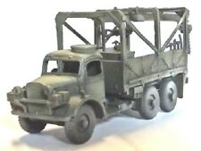 Milicast Uk297 1/76 Resin Wwii British Austin K6 3 Ton 6x4 Recovery/Gantry Truck