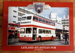 *Sale* Leyland Atlantean PDR, Softback book, Les Simpson, buses
