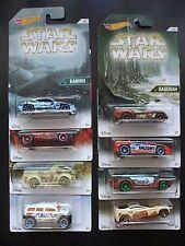 Star Wars ~ 2016 Hot Wheels Collector Set (8 vehicles) Wal-Mart Exclusive! F2