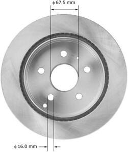 Disc Brake Rotor fits 2010-2017 GMC Terrain  BENDIX PREMIUM DRUM AND ROTOR