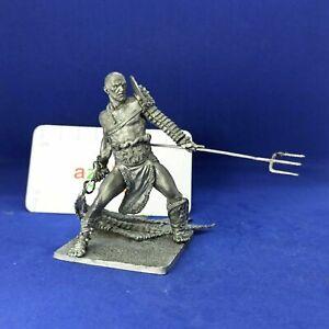 Roman Gladiator Retiarius 1st Century BC 75mm 1/24 Scale Unpainted Tin Figure