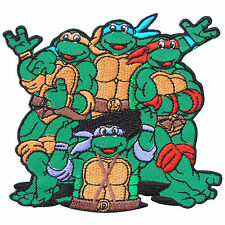 Teenage Mutant Ninja Turtles Cartoon Movie Kids Children Iron on Patches #C0016