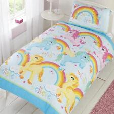 Unicorns, Dreams and Rainbows Toddler Bedding & Pillowcase Duvet Cover Set