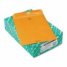 Quality Park Clasp Envelope, 9.5 x 12.5, 32lb, Brown Kraft, 100/Box (Qua37793)