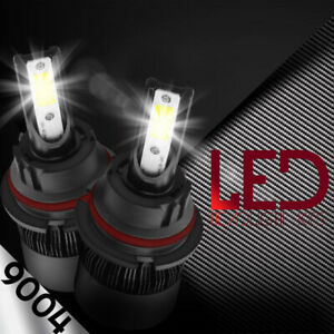 9004 HB1 LED Headlights Kit 488W 48800LM Conversion Bulbs High Low Beam 6000K