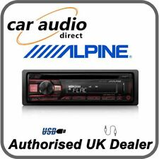 Alpine CDE-201R - CD MP3 FLAC USB AUX Car Stereo RDS Tuner Sound Tuning