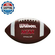 Wilson Ncaa Red Zone Series Composite Football Official Size Sports Outdoor
