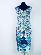 Joseph Ribkoff Etuikleid blau Style:162700 Größe: 42 NP: 249,95€