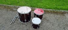More details for jim bao drum kit toms set of three. great for beginners.