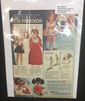 1974 ADVERTISEMENT Doll Shirley Temple Shindana dolls SEARS