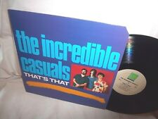 INCREDIBLE CASUALS-THAT'S THAT-ROUNDER 9015 NM/VG+ LP