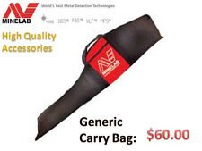 Minelab Padded Carry Bag for all ETRAC and Below Metal Detectors - FREE Shipping