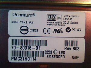 DLT Tape Drive Quantum TR-S13AA 70-80016-01 B03 SCSI LVD SDLT D33125 Super DLT
