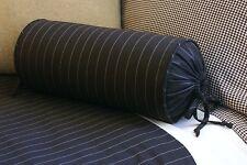 New Custom Ralph Lauren Metropolitan Place Stripe Neckroll Pillow Neck Roll