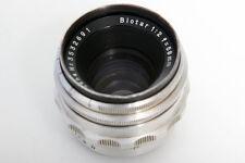 Zeiss Biotar 58mm f2 Lens For Exakta S#3532691