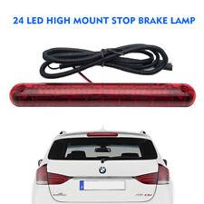 Universal High Level Rear 24 LED Brake Stop Light Red Light Third 3rd Tailgate