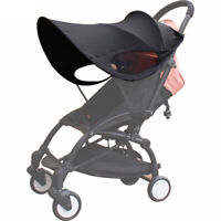 Sunshade Canopy Anti-UV Cover For Babyzen YOYO Baby Stroller Black Shade Cape