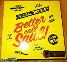 SDCC 2015 MEZCO BETTER CALL SAUL GOODMAN FIGURE EXCLUSIVE BREAKING BAD LE