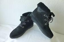 Holly Jollys Stiefel Stiefeletten Boots Damen Gr.44echtes Leder in schwarz top!