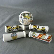 2 Vintage French Porcelain Door Lever Handles Vehicles Decor Porcelain of Paris