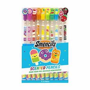 Scentco Graphite Smencils HB #2 Scented Pencils 10 Count New