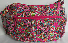 Vera Bradley Women Purse Bag Handbag on the go Crossbody SUNBURST FLORAL new