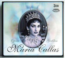 3CD-Box Maria Callas Opera Goddess - Anthology  Weton-Wesgram 2006