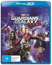 Guardians Of The Galaxy Vol 2 3D Blu-ray BRAND NEW SEALED Region B