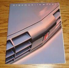 Original 1991 Oldsmobile Full Line Deluxe Sales Brochure 91 Toronado