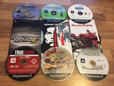 PS2: LOT DE 9 JEUX EN LOOSE        (lot 6bis)