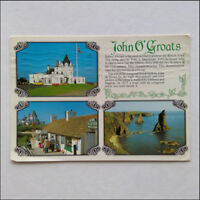 John O'Groats House Hotel Stacks of Duncansby 1987 Postcard (P361)