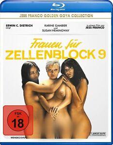 Women of Cellblock 9 - Blu-Ray Disc - Karine Gambier..Jess Franco.