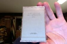 Bill Nelson- three tape lot-all new/sealed-Das Kabinet/Map of Dreams/Ritual Echo